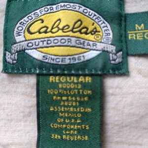 Cabela's Shirts - Cabelas Men Long Sleeve Button Up Flannel